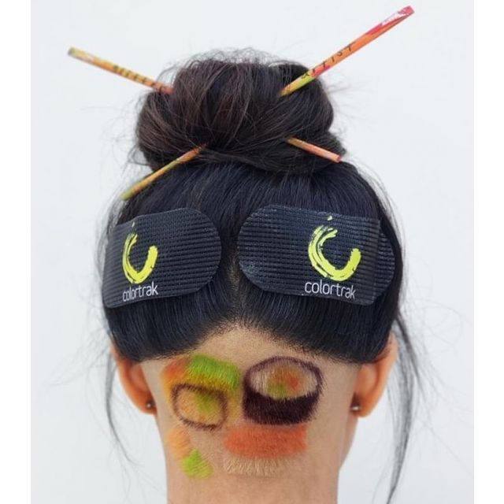 HAIR GRIPPERS COLORTRAK - 2 UN. 1